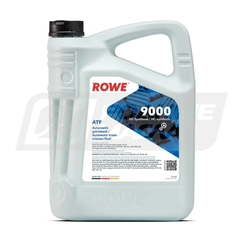 ROWE HIGHTEC ATF 9000, 5л 25020-0050